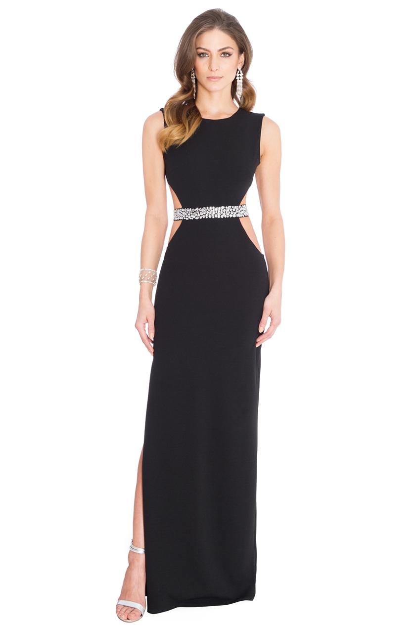 a71fc6bcdcaa backless sexy μαύρο maxi φόρεμα
