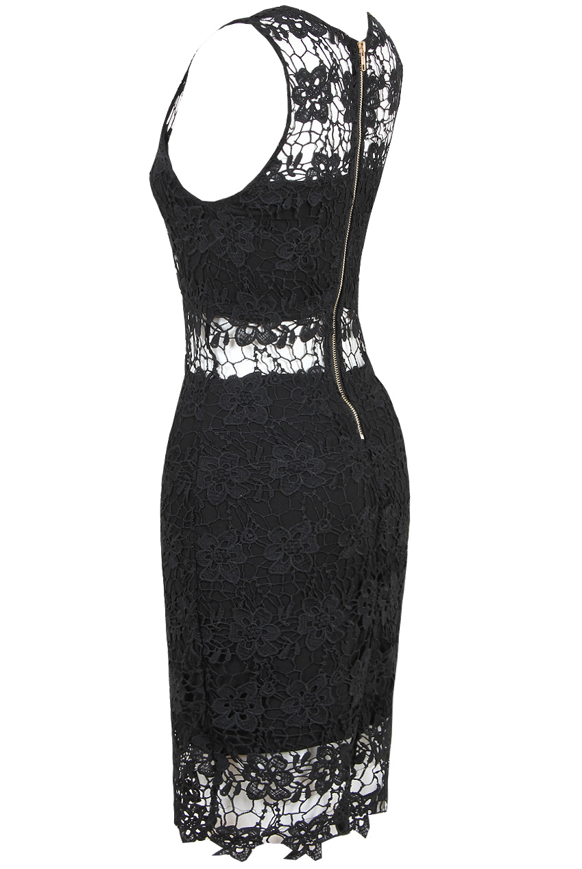 5eb3f149a053 εφαρμοστό φόρεμα κροσέ δαντέλα sicily