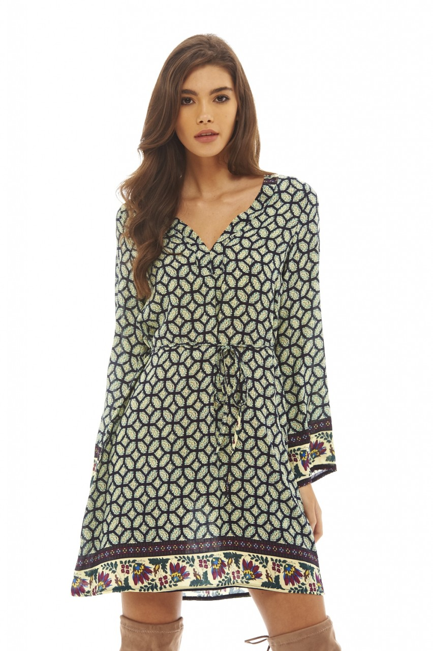 boho chic φόρεμα τουνίκ 06be2a5a2d4
