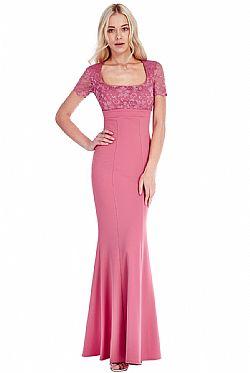 8fe55078e495 romantic empire maxi βραδινό φόρεμα σε vie rose