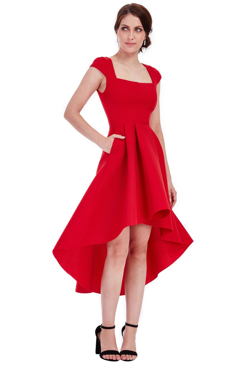 high low royal φόρεμα σε κόκκινο 2044bbdbe40