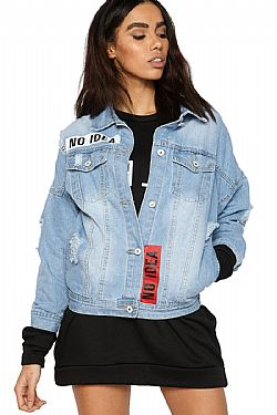 blogger favorite denim jacket no idea