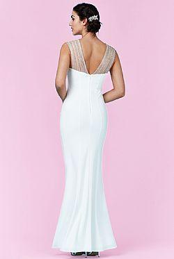 bridal strass rays φόρεμα mermaid ... 55c1de25f5d