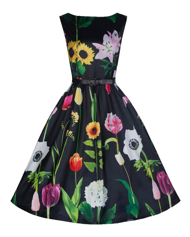 vintage skater φόρεμα stunning wild garden