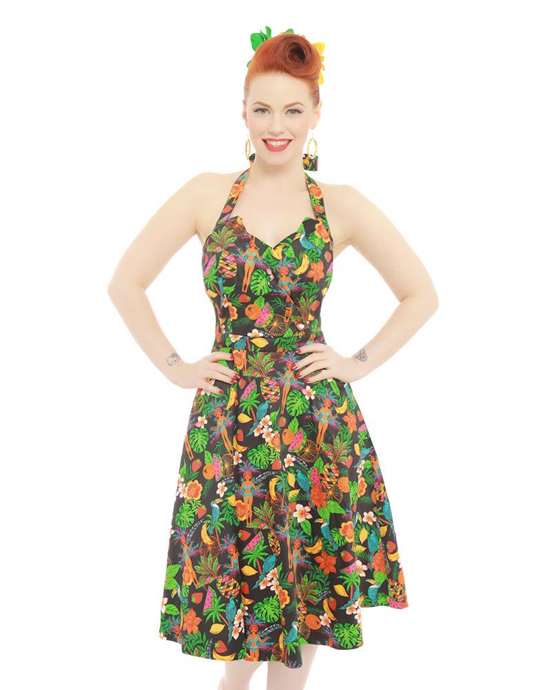 c063b3016e6c vintage rockabilly φόρεμα Jungle fever