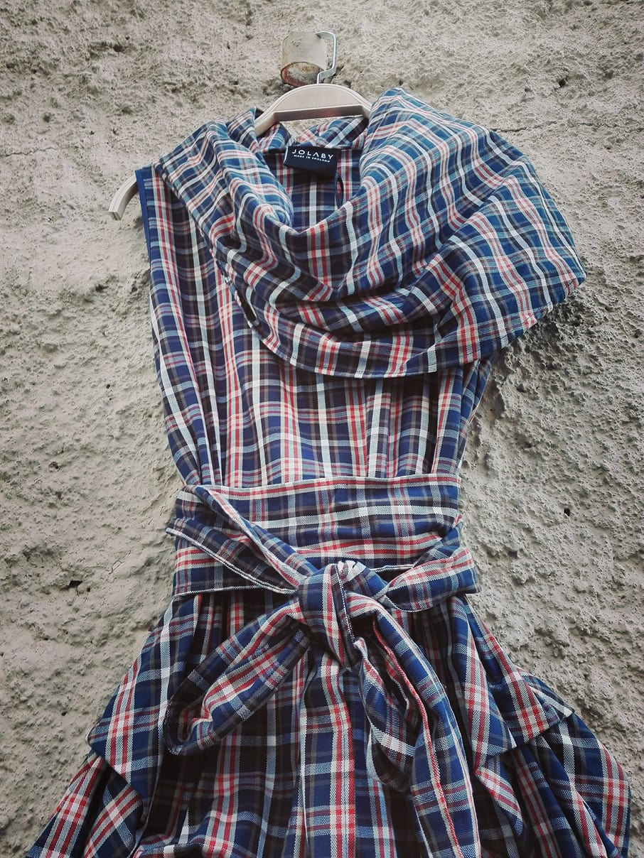 so english mini extravagant tartan φόρεμα Ellie