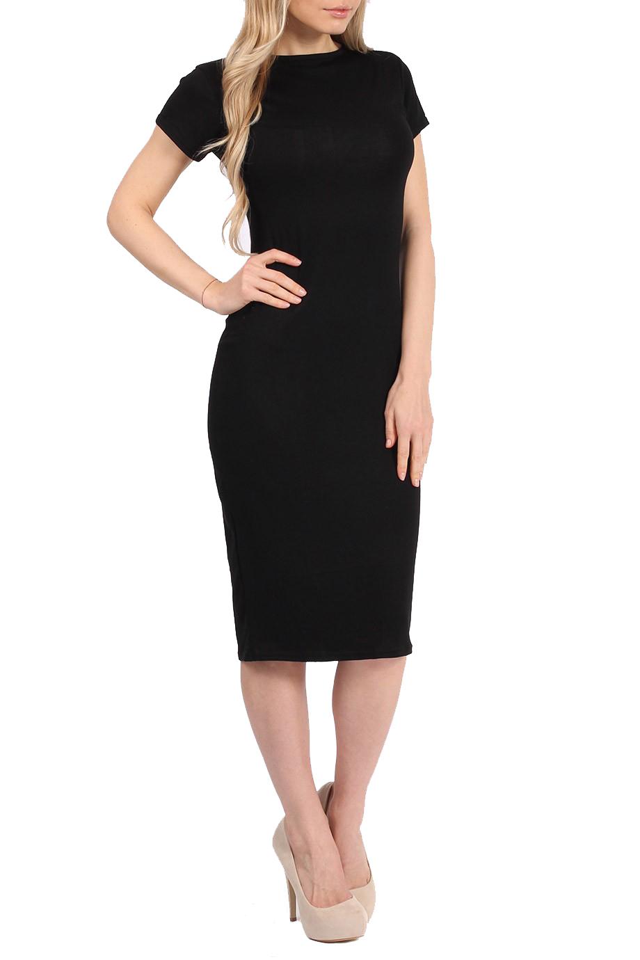 basic allday viscose φόρεμα σε μαύρο 2a65165fe2c