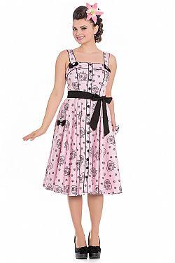 f4b4fdfe3e58 vintage φόρεμα rockabilly riot girl