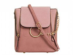 blogger must have polymorphic bag σε dusky ροζ
