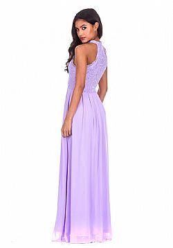αέρινο romantic φόρεμα lilac δαντέλα ... 95d06290d01