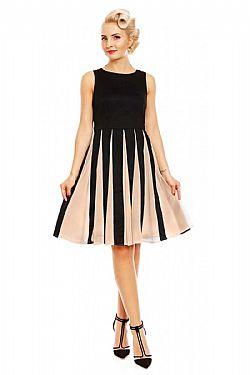 vintage chic φόρεμα Judith retro chiffon ... bca50508e6e