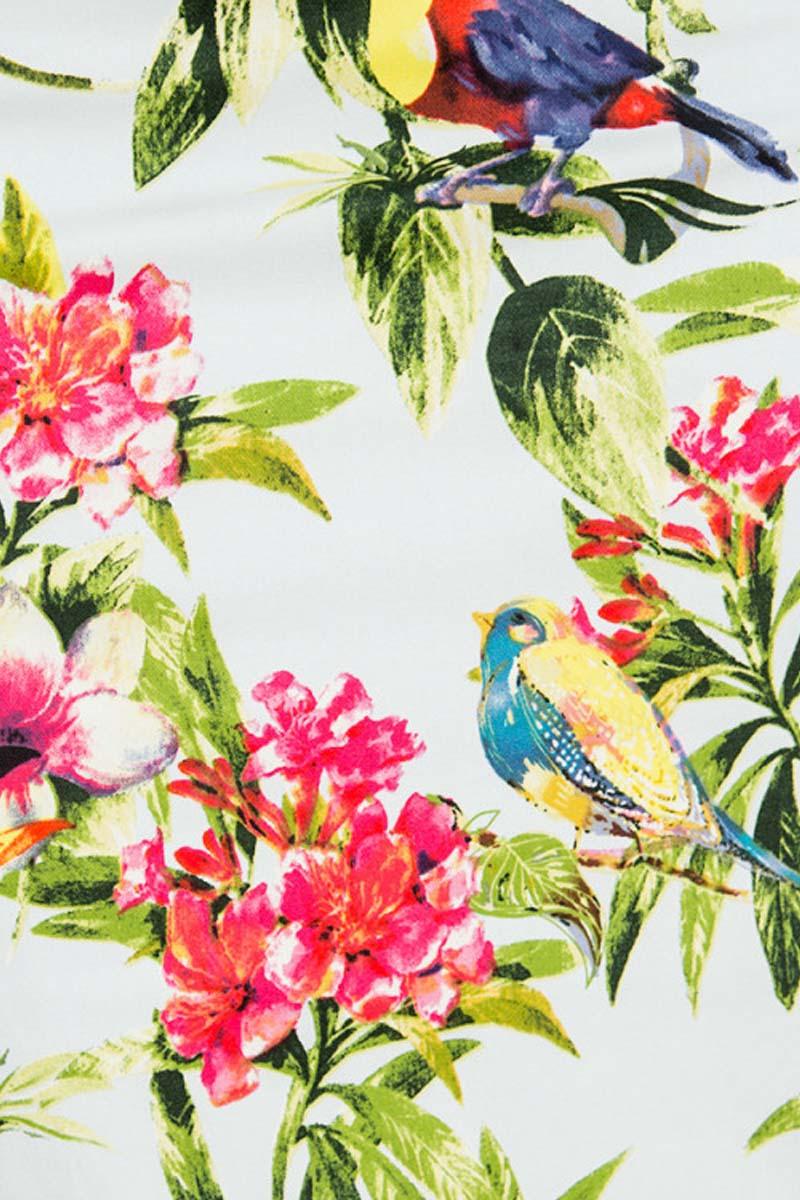 c61abc4d03c vintage pin up 50s φόρεμα tropical birds Bianca
