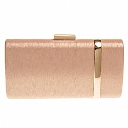luxurious rose gold clutch