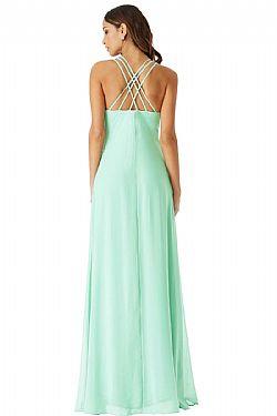 6337b1c41b7f αέρινο princess maxi φόρεμα σε mint ...