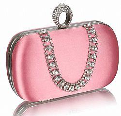 7475c4a051 vintage σατέν clutch Grace Kelly σε ροζ ...