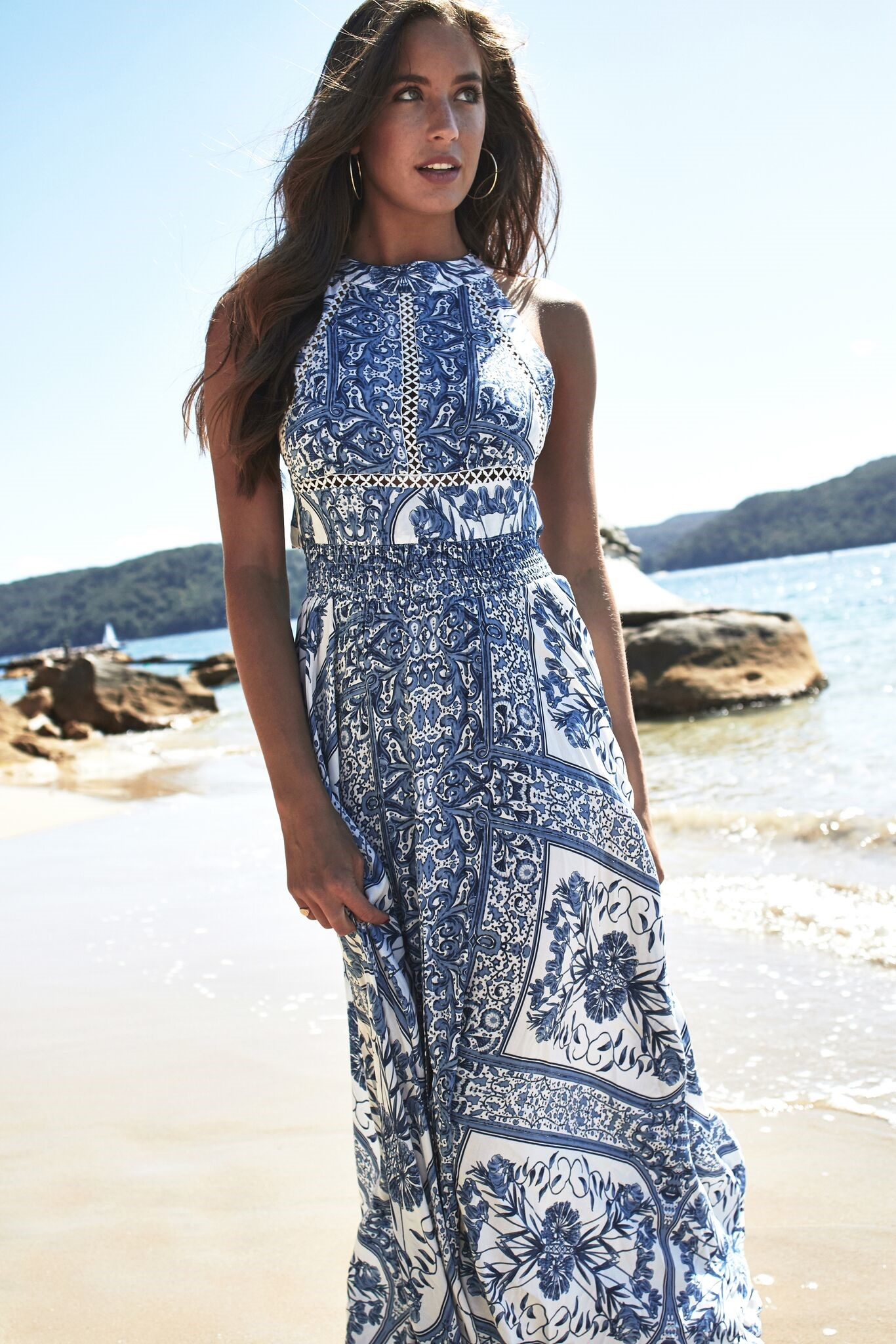 3178236063d9 bohemian luxe maxi φόρεμα Endless Summer