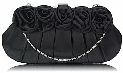 vintage τσαντάκι passionate roses black