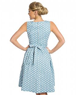 vintage cute φόρεμα antique blue Audrey