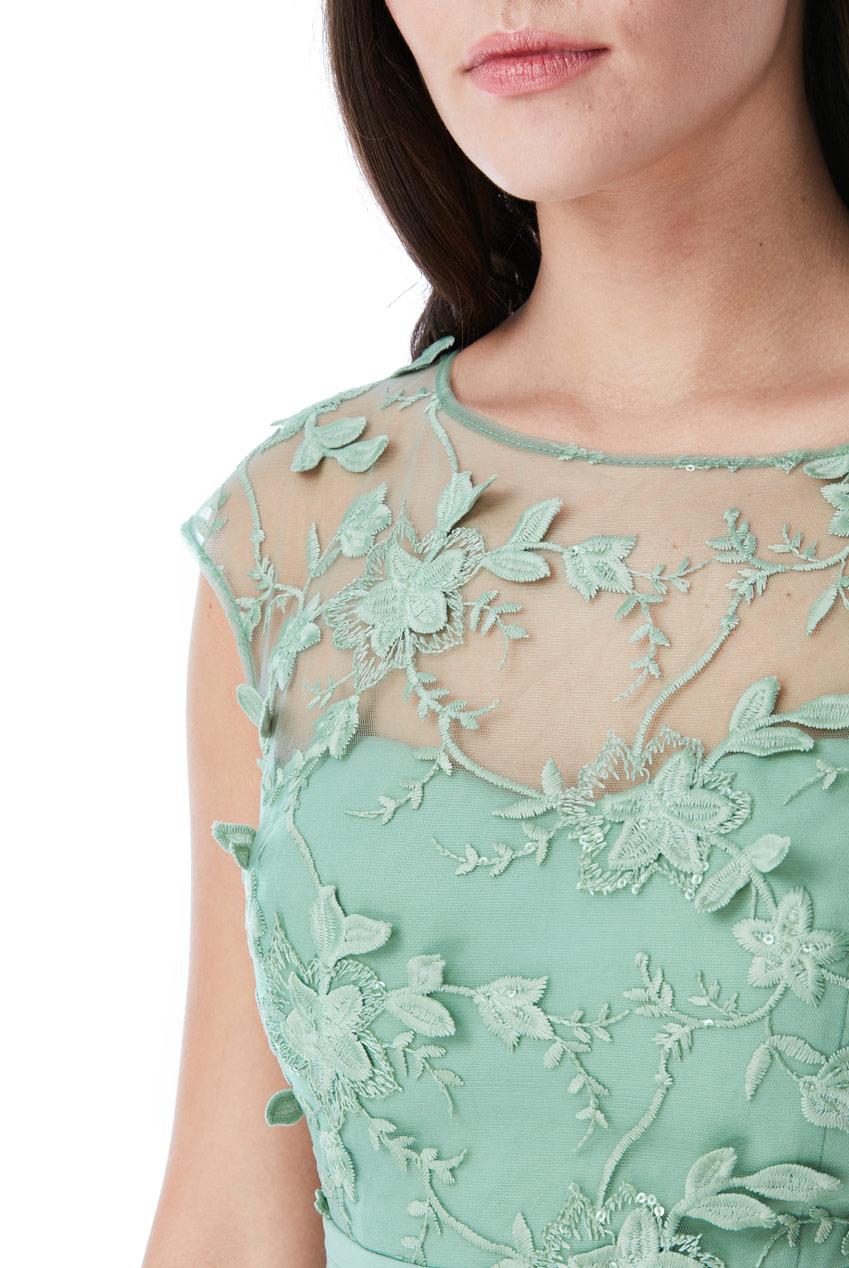 αέρινο empire φόρεμα 3d floral sweet green c66f349beb1
