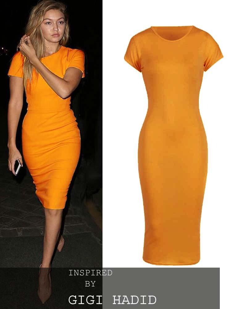 63e057b2d46 basic allday viscose φόρεμα σε κίτρινο mustard