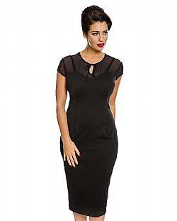 767855b8de9 vintage classic black pencil φόρεμα Marlene vintage classic black pencil  φόρεμα Marlene