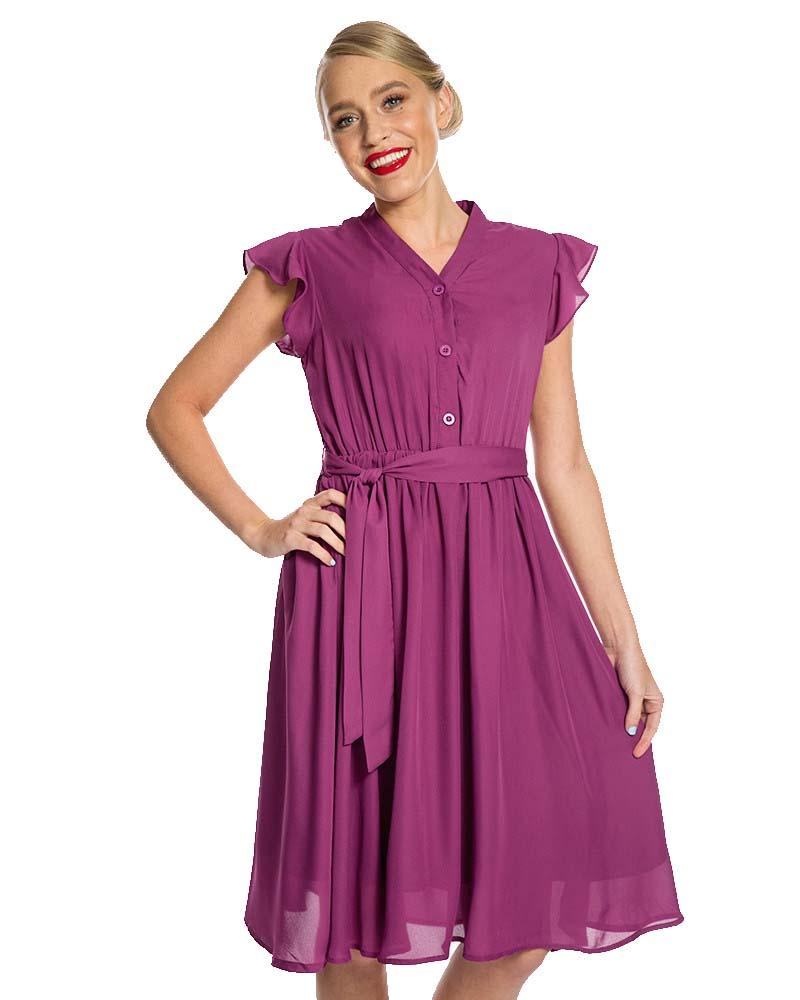 f22a0e8ad900 vintage αέρινο 40s tea φόρεμα Kendra berry