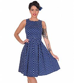 vintage pin up 50s polka dot φόρεμα Lola