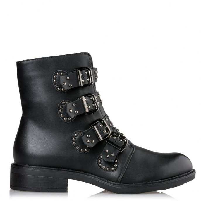 blogger μποτάκι rock on stud booties