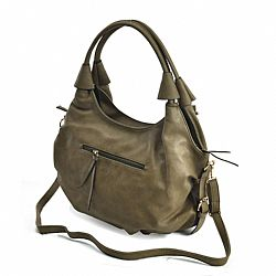 029afaef52 boho chic tote allday τσάντα σε χακί Gaia ...