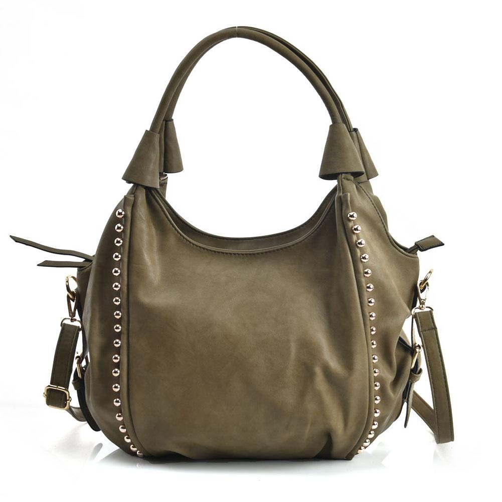 635e6df9f04b boho chic tote allday τσάντα σε χακί Gaia