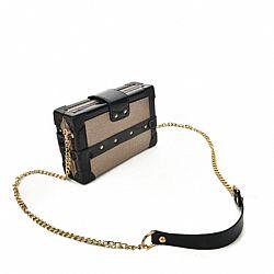 ae12dc620b luxurious τσάντα βαλιτσάκι gold   vinyl ...