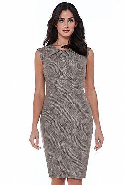 cool wool essential καρώ business φόρεμα cool wool essential καρώ business  φόρεμα 2c503547651