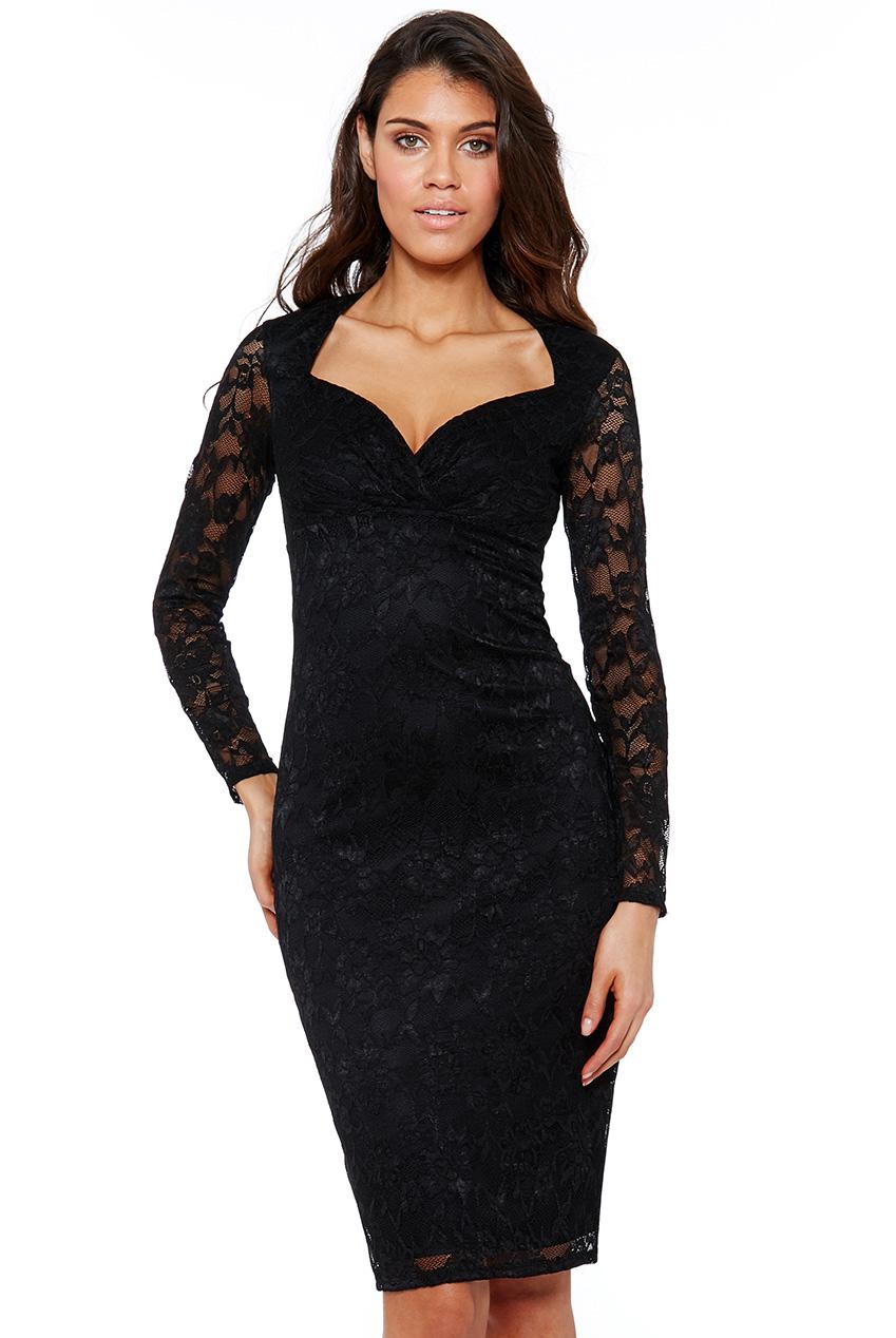 9436a620a370 vamp μαύρο φόρεμα lace Ashley