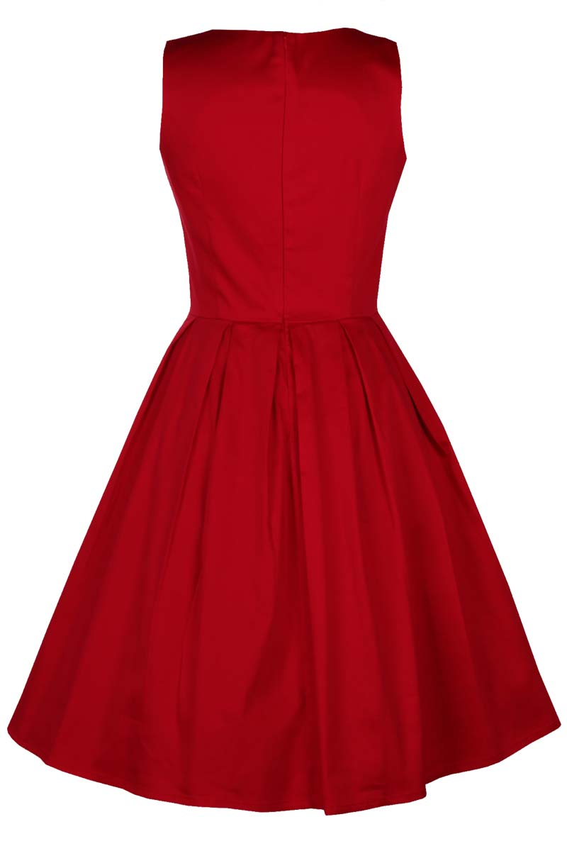 vintage classic red φόρεμα Lolita red