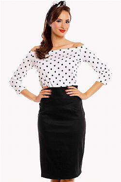 vintage rockabilly top Gloria