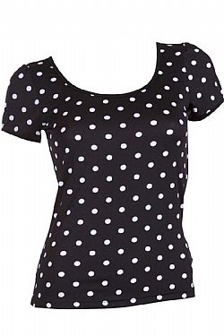 vintage rockabilly top Gina