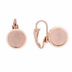 7579626b166 σκουλαρίκια rose gold buille με κλιπς