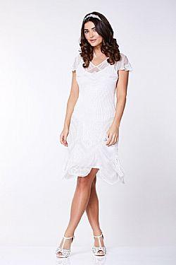 20s bridal vintage φόρεμα flapper rays Beata ... b09332b6e7a