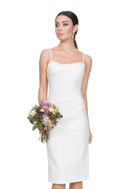 bridal stretch λευκό φόρεμα sweet Valentine fa85e2c5281