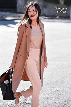 must have nude spring slim leg παντελόνι κολάν