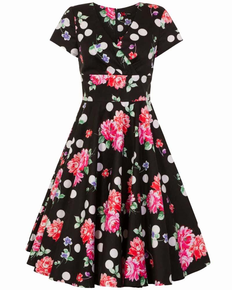 39767003303e dolce vita 50s vintage φόρεμα Sofia