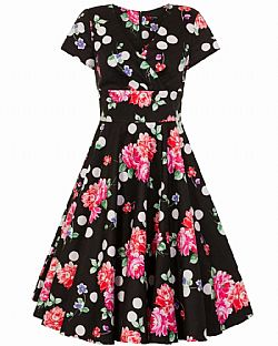 e6df2d833b65 ... dolce vita 50s vintage φόρεμα Sophia