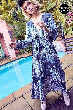 ... boho hippie loose φόρεμα Santa River maxi 2e732e48d72