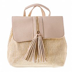 naturally chic τσάντα backpack sand