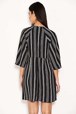 modernity stripes mini φόρεμα knot