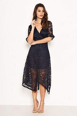 7a25acf04720 fine lace φόρεμα Bridgette navy fine lace φόρεμα Bridgette navy
