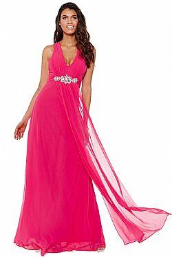 de2ecb54351a ... αέρινο princess maxi φόρεμα σε cerise φούξια