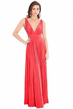 14fe2259dfd3 ... grecian goddess luxe maxi φόρεμα σε coral