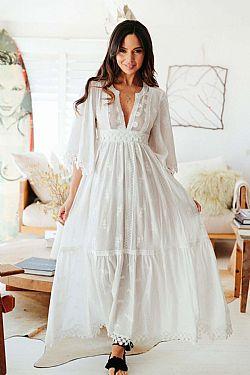 075c6d1e48b0 bohemian luxe romantic bridal φόρεμα Isabella
