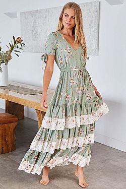 1e7005a9b65 ... romantic bohemian luxe φόρεμα sweet green Sarah Kay